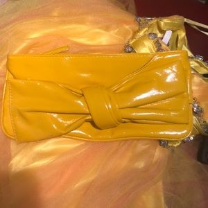 Matching purse with the dress